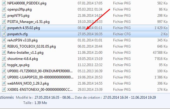 [Tutoriel] Changer le cID en CFW 4.xx avec PSN Patch 1