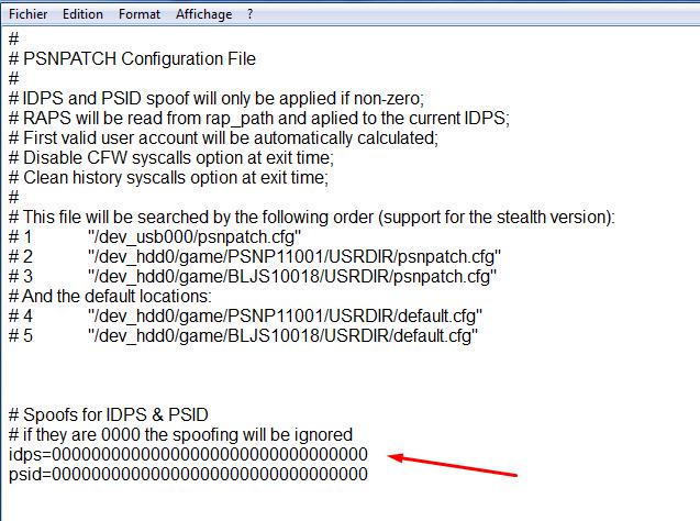 [Tutoriel] Changer le cID en CFW 4.xx avec PSN Patch 2
