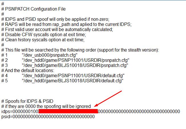 [Tutoriel] Changer le cID en CFW 4.xx avec PSN Patch 3