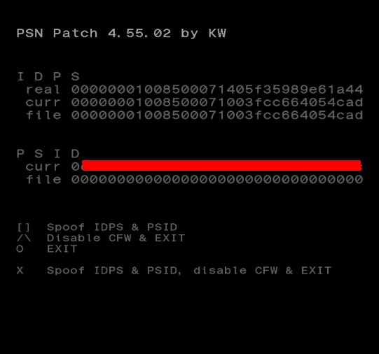 [Tutoriel] Changer le cID en CFW 4.xx avec PSN Patch 6