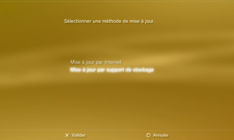 mise a jour ps3 version 3.55